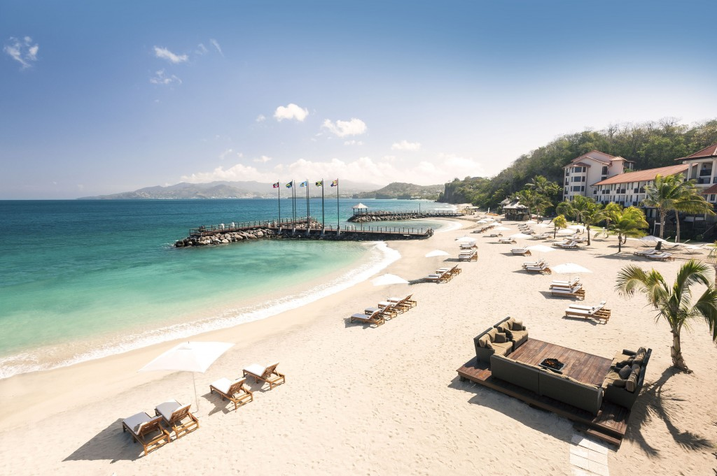 Sandals La Source Grenada beach