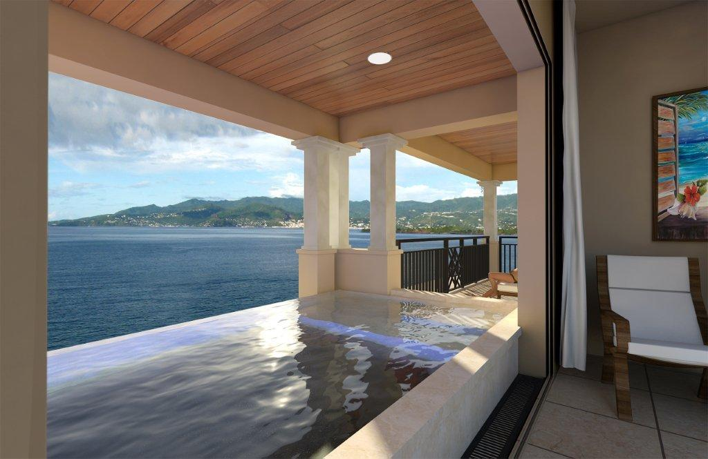 Sky Pool Suite Balcony